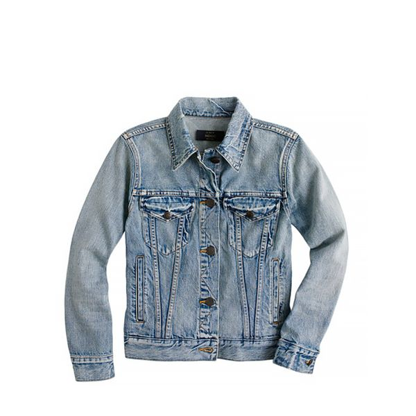 J.Crew Vintage Denim Jacket