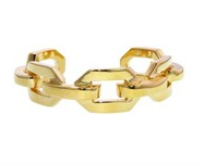 Jennifer Fisher Gold-Plated Chain-Link Cuff