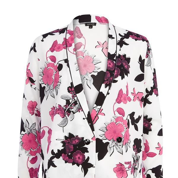 River Island White Floral Print Kimono