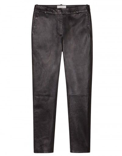 Sandro Platon Leather Pants
