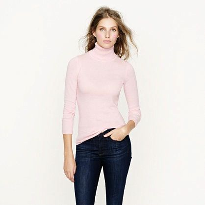 J. Crew Collection Cashmere Turtleneck Sweater
