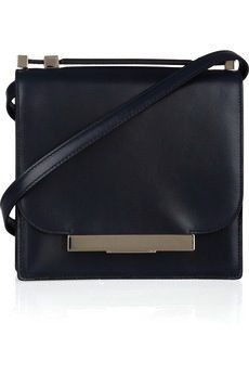 The Row The Row Leather Shoulder Bag