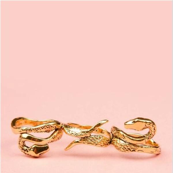 Aurelie Bidermann Aurelie Bidermann Three Snakes Ring