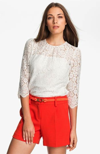 Milly Milly Ivy Lace Blouse