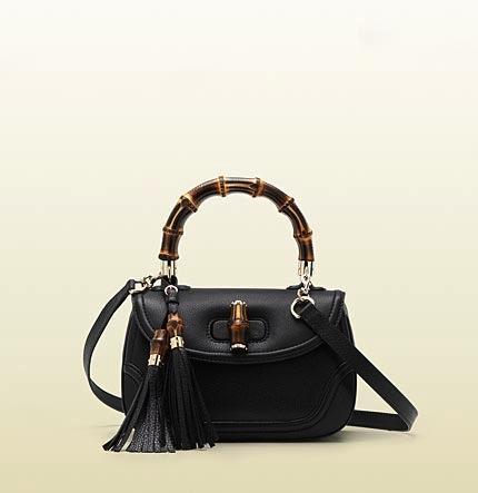 Gucci Gucci Bamboo Medium Top Handle Bag