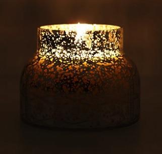 Capri Blue  Capri Blue Mercury Glass Jar Candle