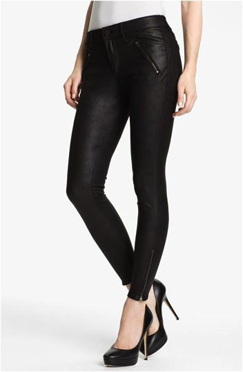 Habitual Amalia  Habitual Amalia Skinny Coated Faux Leather Pants