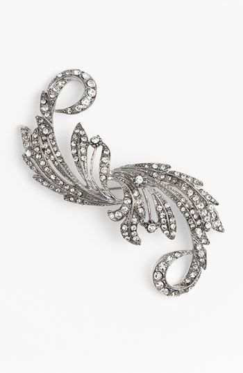 Nina Taylor Crystal Statement Brooch