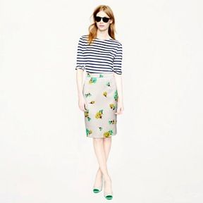 J. Crew High Waisted Skirt