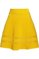 M Missoni Cotton-Blend A-Line Skirt