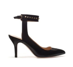 Zara Zara Studded Sling Back with Ankle Strap