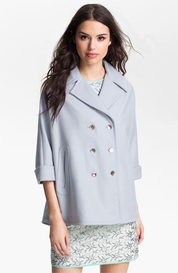 Ted Baker Ted Baker London Double Breasted Cape Coat