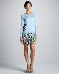 Sachin + Babi Sachin + Babi Marbella Printed Skirt