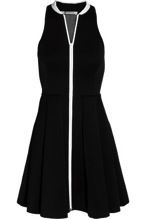 T by Alexander Wang  T by Alexander Wang Pleated Neoprene Mini Dress