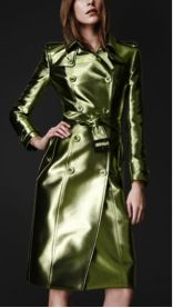 Burberry Bright Metallic Trench Coat