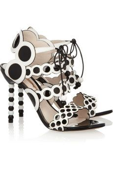 Yayoi Patent Leather Sandals