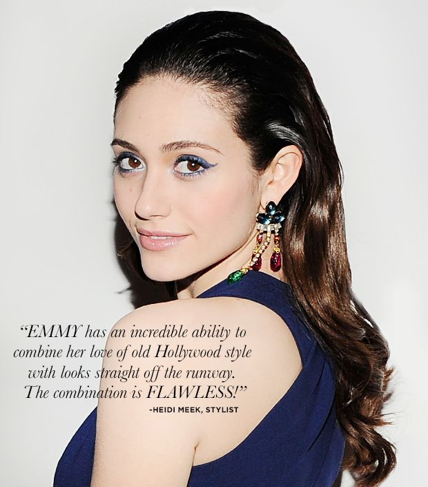 8 Ways To Get Emmy Rossum's Polished Style.