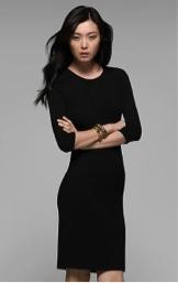 Theory Theory Faviana Silk Blend Dress