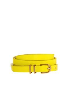 ASOS ASOS Neon Metal Keeper Super Skinny Belt
