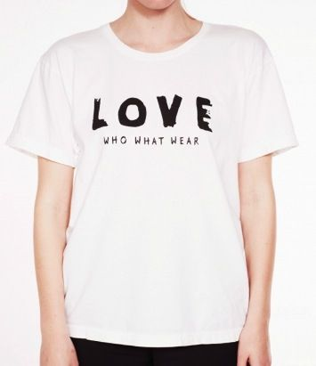 Who What Wear Love Tee