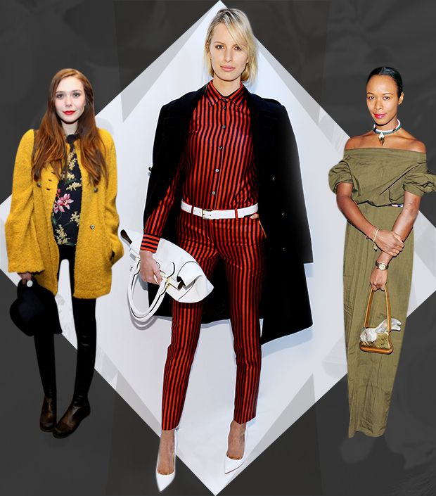 See What The Front Row Wore To NYFW.