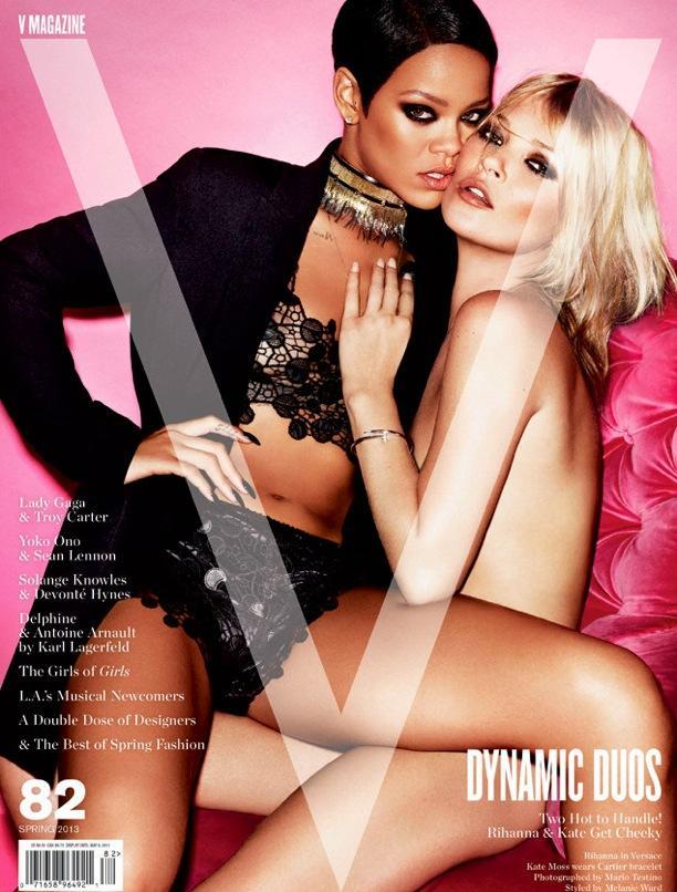 Kate Moss + Rihanna | V Magazine