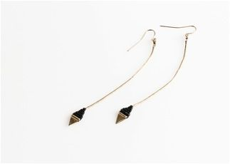 Iwona Ludyga  Iwona Ludyga Tribe Long Leaf Earrings