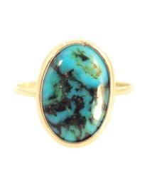 Mociun Mociun Oval Turquoise Ring