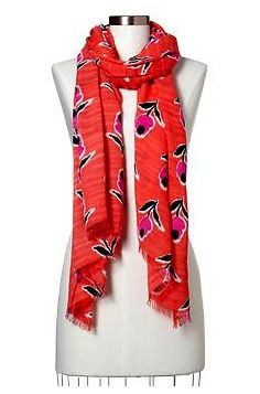 Gap Gap Bright Floral Scarf