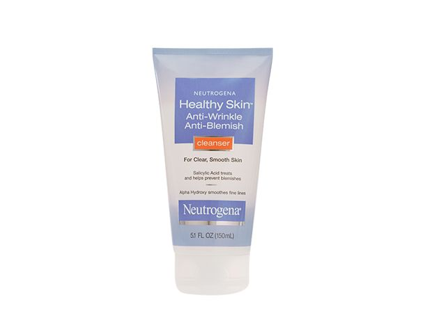 Neutrogena Healthy Skin Anti-Wrinkle Anti Blemish Cleanser