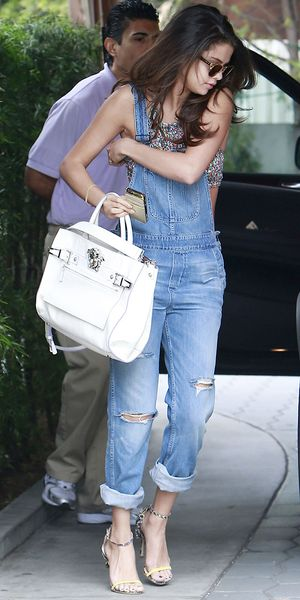 Selena Gomez Puts Her Own Stylish Spin On The Overall Trend