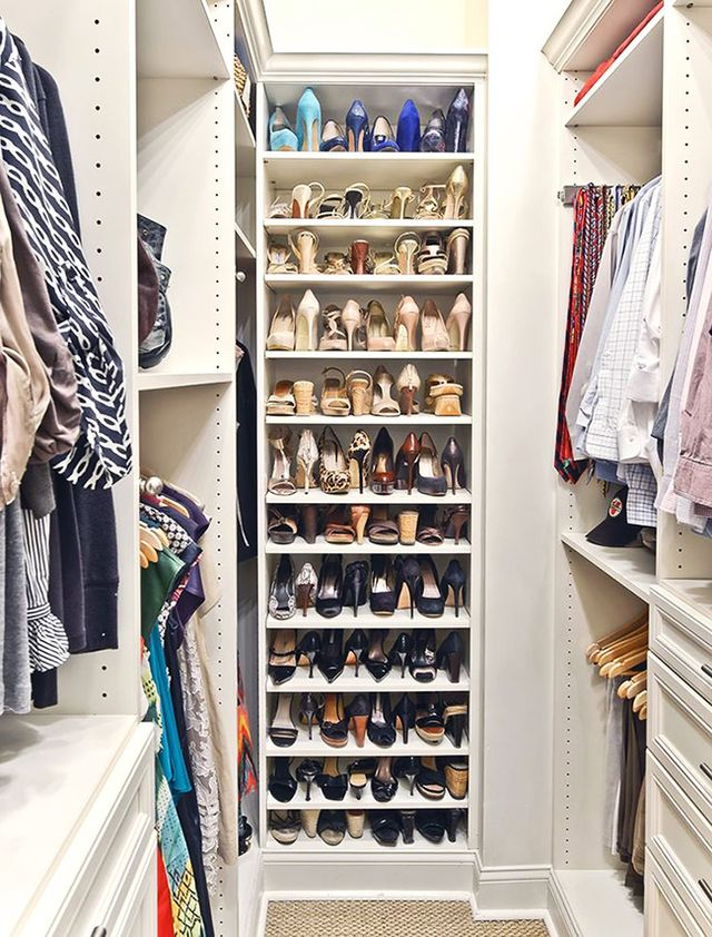 Merveilleux Front To Back This Organizational Tip Is Particularly Handy For Those With  Ceiling To