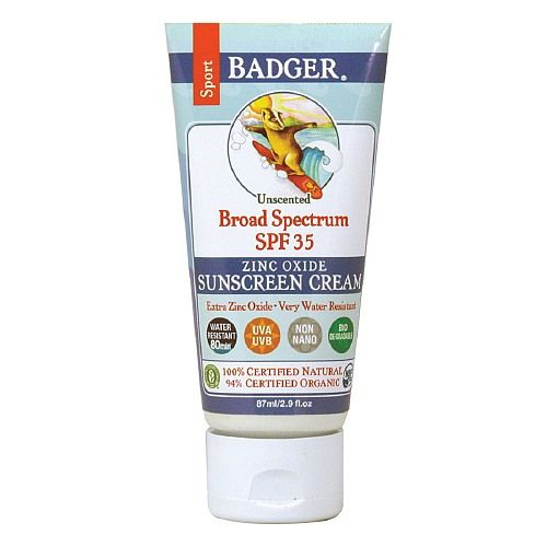 Badger Broad Spectrum Sport Sunscreen, SPF 35