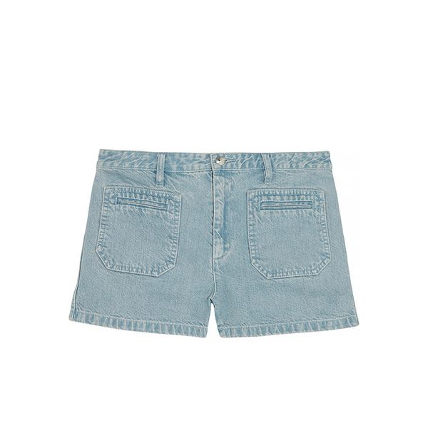 A.P.C. Roma Faded Denim Shorts