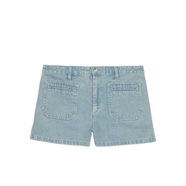 A.P.C. Roma Faded Denim Shorts