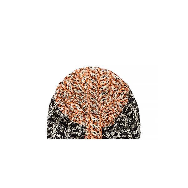 Anna Sui Parrot Print Chiffon Hat