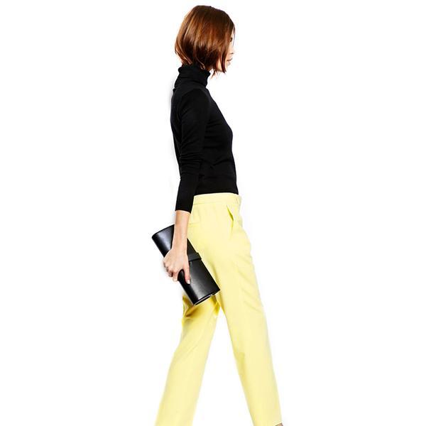 ASOS Slim Leg Crepe Trousers