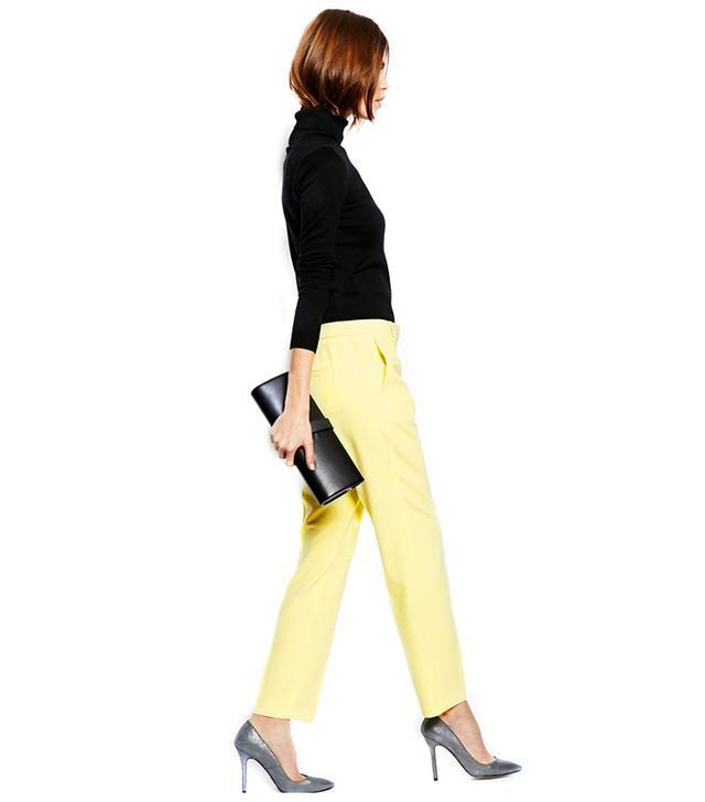 ASOS Slim Leg Crepe Trousers ($57)