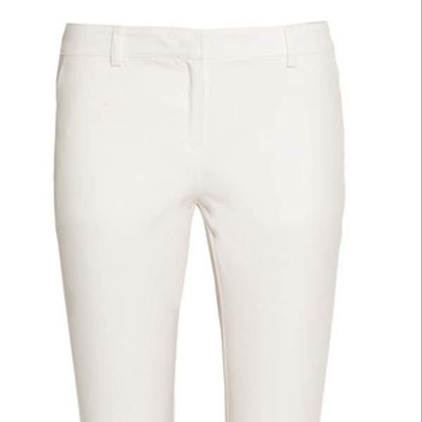 Karl Lagerfeld Brooke Stretch-Twill Cropped Pants