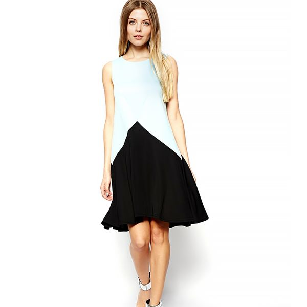 ASOS Airtex Back Swing Dress