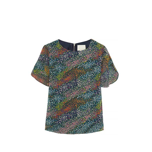 Band of Outsiders Band of Outsiders Flower Field Top ($325)