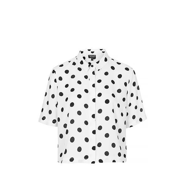 Topshop Topshop Spot Print Shirt