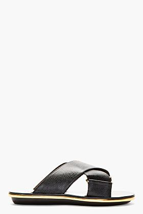 Marni Textured-Leather Sandals