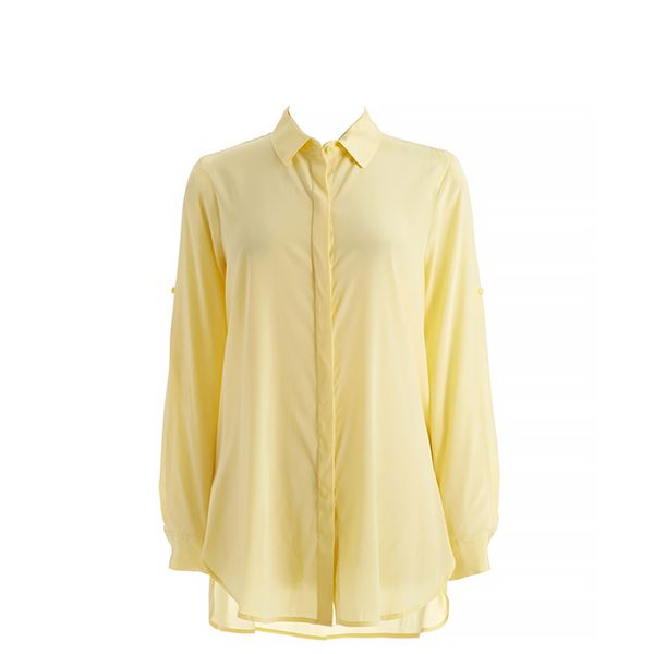 DKNY Button-Down Blouse