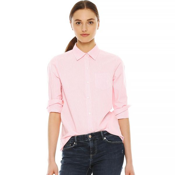Joe Fresh Stripe Oxford Shirt