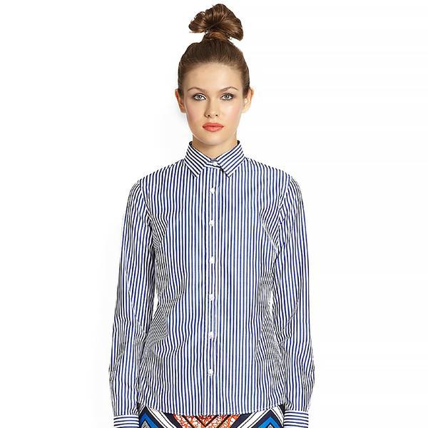 Stella Jean Cotton Button-Down Shirt