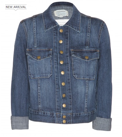 Current/Elliott The Snap Denim Jacket