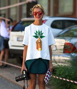 4 Pineapple Print Street Style Looks We Love
