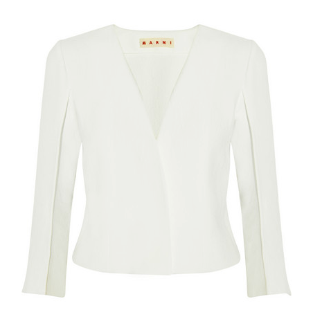 Marni Textured-Jersey Jacket