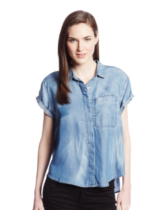 Calvin Klein Jeans Short Sleeve Denim Shirt